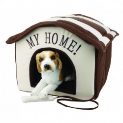BURGHAM Cumfy Plush Dog House 16in