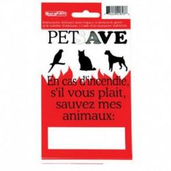 PETSAVE Fire Sticker/FRCH (6) BURGHAM Miscellaneous Accessories