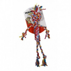 FLOSSYCHEWS Cloth Rope Man - Small 14