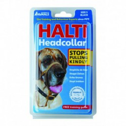HALTI Headcollar Size5/BK