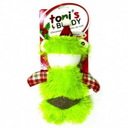 TB Holiday Plush Santa DogToy-Frog19x26cm
