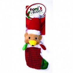 TB Holiday Plsh Snta Stckng Toy-Bear36x15cm