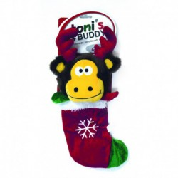TB Hldy Plsh Snta Stocking Toy-Rndeer36x15cm