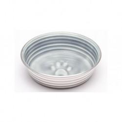 LOVING PETS LE BOL CHIEN/CHAT BOL GRIS PARISIEN T. LOVING PET Food And Water Bowls