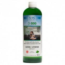 SOS D-500 NETTOYANT PLANCHER/NEUTRALISANT ODEURS ANIMALES 50