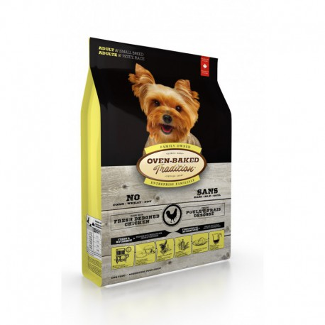 OBT Nourriture Chien/ Adulte 5 lbs PB OVEN BAKED TRADITION Nourritures Sèches