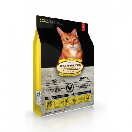 OBT Nourriture Chat/ Poulet Adulte 10 lbs
