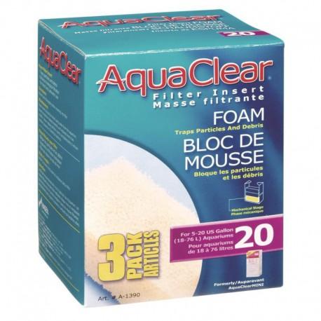 AquaClear Sachet D/Mouse Filt.Mini-V