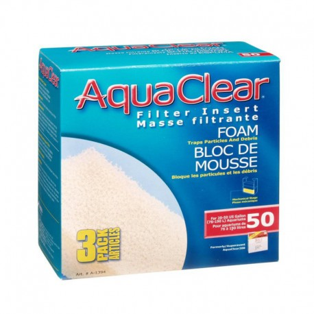 AquaClear -200- Sachet D/Mouse Filt.-V