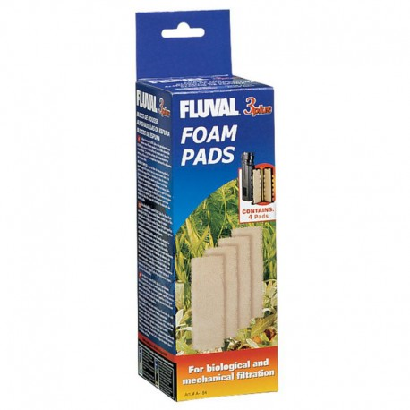 Fluval 3 Plus Foam insert, CA & US-V