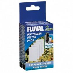 Cartouches de polyester Fluval 2 Plus, paquet de 4