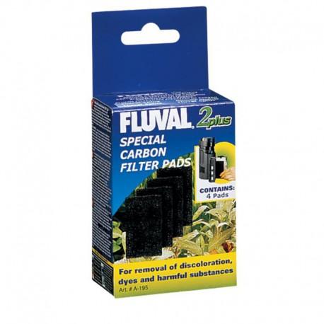 Fluval 2 Plus Carbon Pads, 4 pcs,CA&US-V