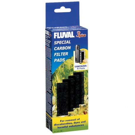 Fluval 3 Plus Carbon Pads, CA & US-V