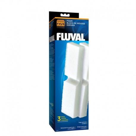Fluval FX/6 Filter Foam 3pcs-V FLUVAL Masses Filtrantes
