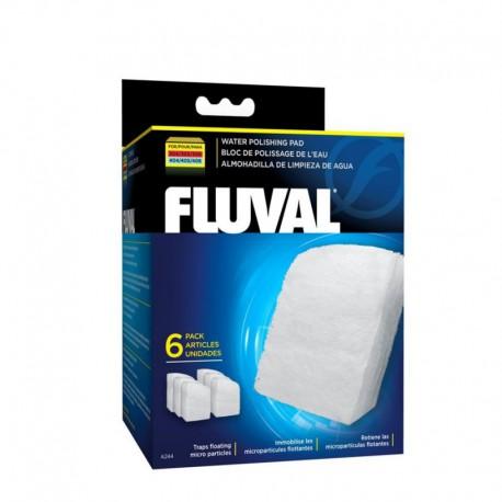 Bloc polis. eau Fluval 307/407, 6-V FLUVAL Masses Filtrantes