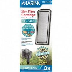 Marina Slim Filter Carbon, 3pk-V