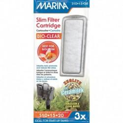 Marina Slim Filter Repl. Zeolite, 3pk-V
