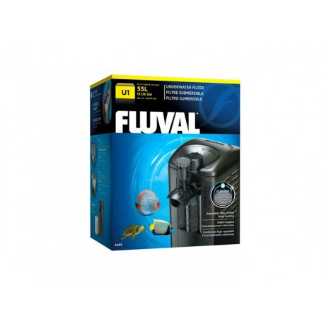 Filtre sub. FL U1 pr aquar. 55 L-V FLUVAL Filtres Motorisés
