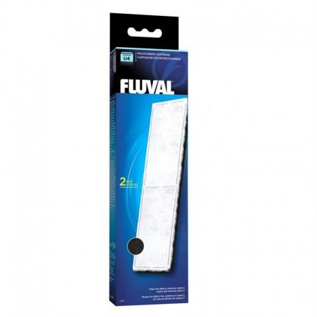 Fluval U4 Poly/Carbon Cartridge,2pcs-V
