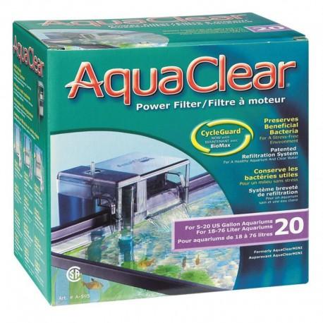 AquaClear 20 Mini Filtre à Moteur-V