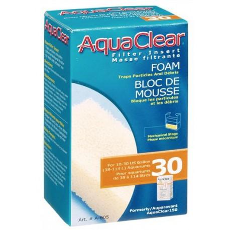 AquaClear30/ 150 Bloc D/Mous.Filt.-V AQUACLEAR Masses Filtrantes