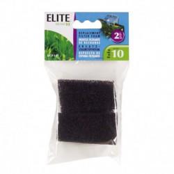 Elite Hush 10 Foam Cartridge, 2PK-V