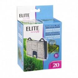 Elite Hush 20 Carbon Cartridge,5Pk-V