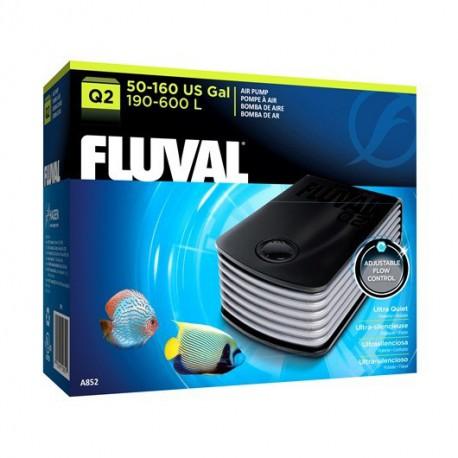 Pompe à air Q2 Fluval