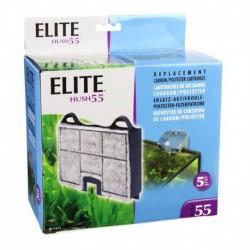 Elite Hush 55 Carbon Cartridge, 5pcs-V