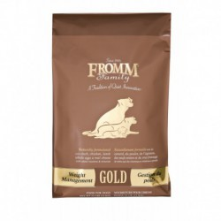 PROMO- - Mars - FROMM GOLD CHIEN GESTION POIDS 15 KG