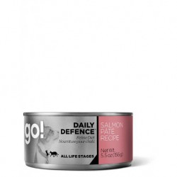 GO! CHAT DAILY DEFENCE PATE SAUMON 5.5OZ