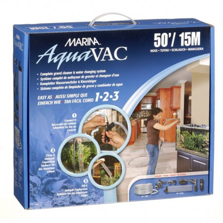 MA Aqua-Vac Water Changer w/ 50ft Hose-V