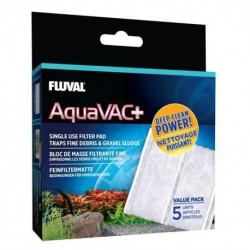 Fluval Aqua Vac Plus Fine Filter Pad,5pk