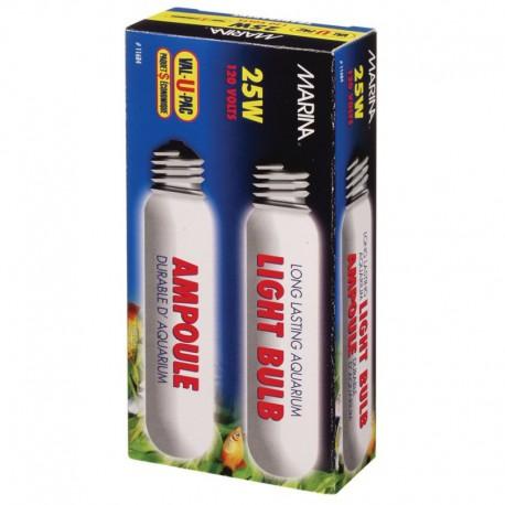 Marina Clear Showcase Bulb 25W 2pieces-V