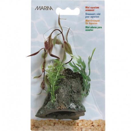 Marina Betta Bowl Driftwood Ornament-V