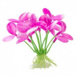 Promo -  juin - Orchidée rose MA p. aquarium betta,7cm