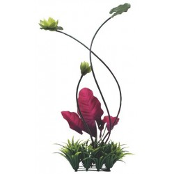 Fluval Chi Ornament, Lily Pad and Plant Grass