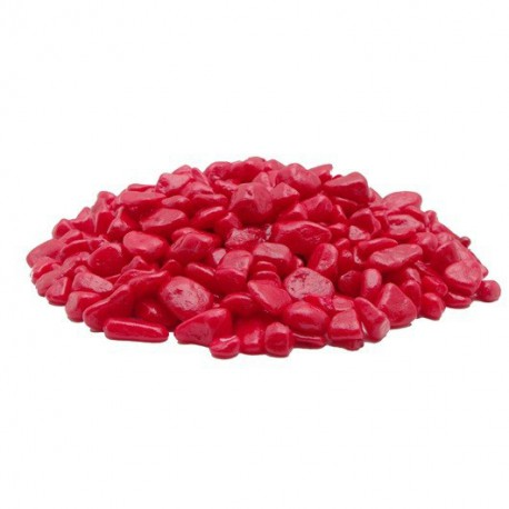 Gravier décoratif Marina, rouge, 450 g-V