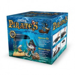 Aquarium équipé Pirates Marina, 3,78 L