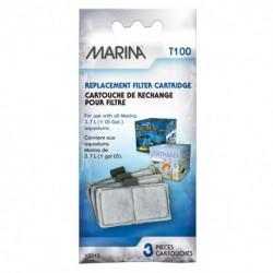 Cartouche rechange filtre Marina,pqt 3