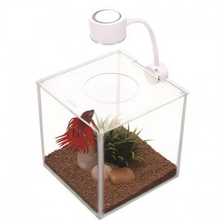 Marina Cubus Glass Betta Kit, 3.4L-V