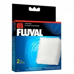 Plaquette mousse Fluval C3, 2 unités-V