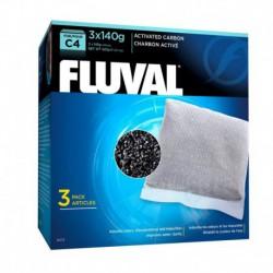 Charbon Fluval C4, 3 x 140 g (4,9 oz)-V