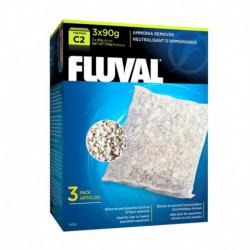Élim. ammoniaque Fluval C2, 3 x 90 g-V