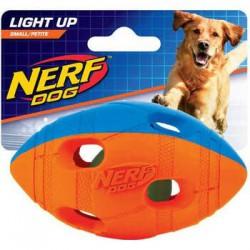 Bal.foot. à mâcher Nerf TPR15,2cm-2186BO