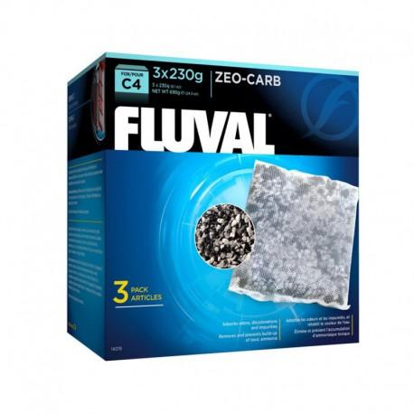 Zeo-Carb Fluval C4, 3 x 230 g (8,1 oz)-V