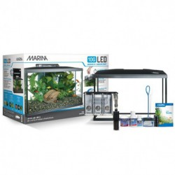 Marina 10G (10 Gal.) LED Aquarium Kit