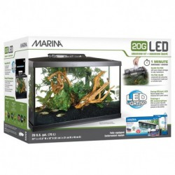 Marina 20G (20 Gal.) LED Aquarium Kit
