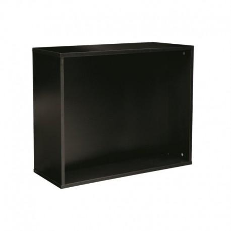 Support FL p. aquarium, noir, 79x33x66cm