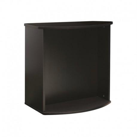 FL Bow Front Aq.Stand,79x33x66cm,Black